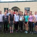 Победители легкоатлетической эстафеты 04.05.2018