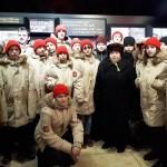 Юнармия посетила музей реконструкцию в СПБ посвященную Блокаде, возложили цветы у дома Тани Савичевой и на Пискаревском кладбище (10)
