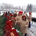 Юнармия посетила музей реконструкцию в СПБ посвященную Блокаде, возложили цветы у дома Тани Савичевой и на Пискаревском кладбище (6)